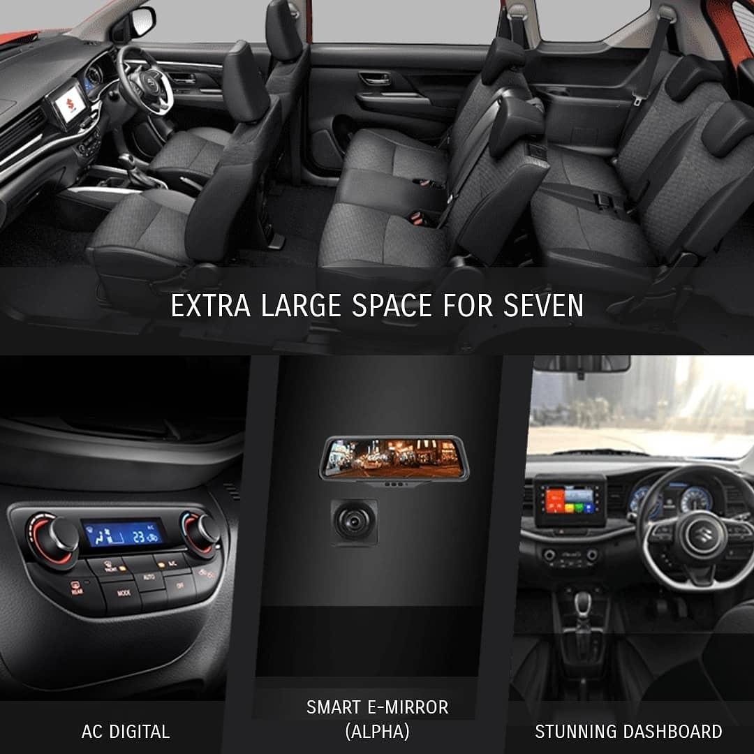 Katalog Interiror Suzuki Xl7 Dashboard audio E Mirror