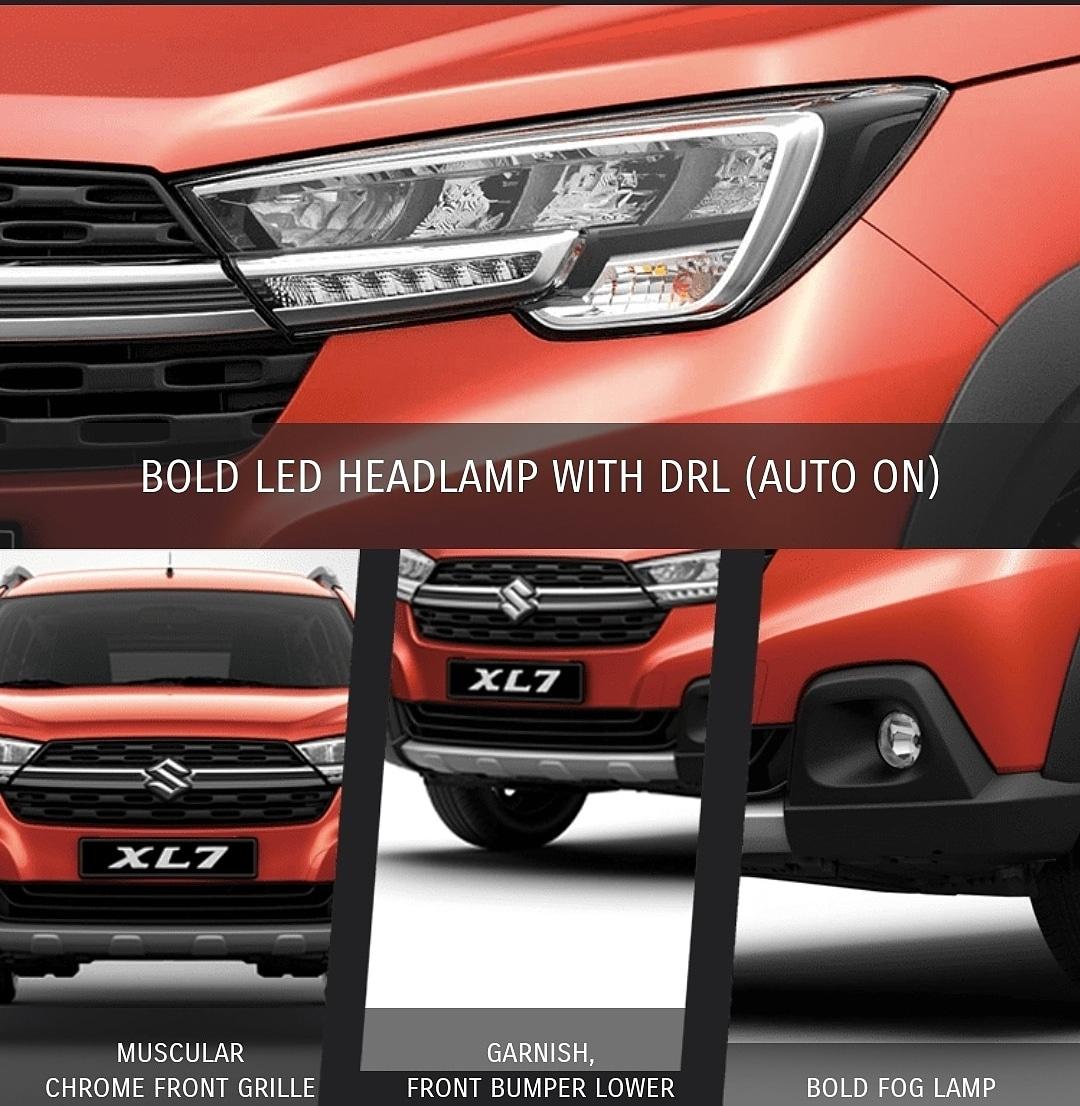 Katalog Suzuki XL7 Tampak Depan