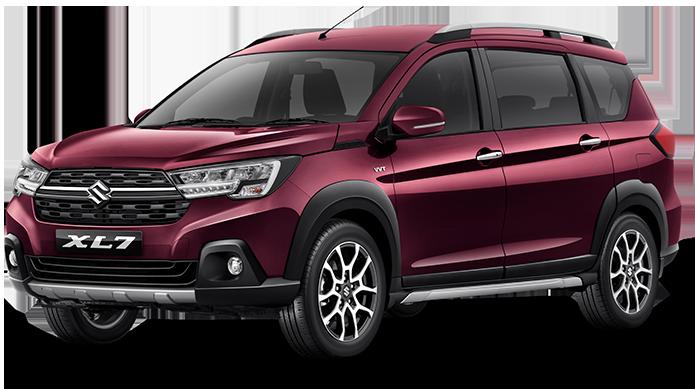 Pilihan warna XL7 Bergundy Katalog Suzuki XL7
