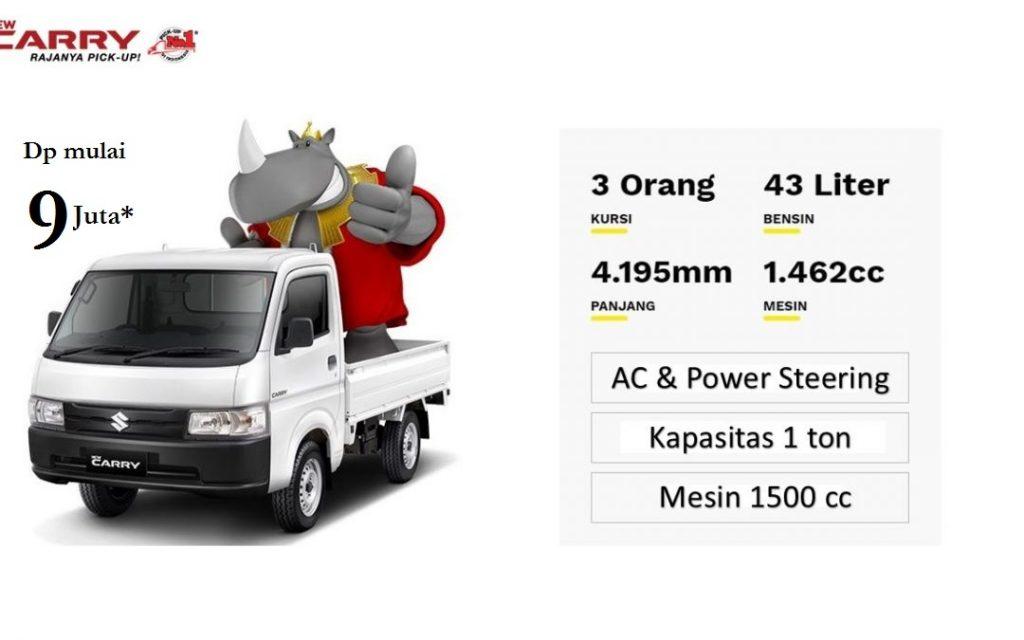 dp mulai 9 Juta Suzuki New Carry Pick Up Jakarta Bekasi Tangerang Depok harga murah
